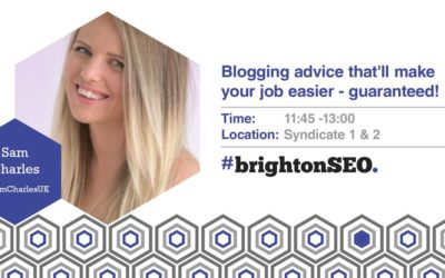 BrightonSEO Slides – Blogging advice that'll make your job easier – guaranteed!